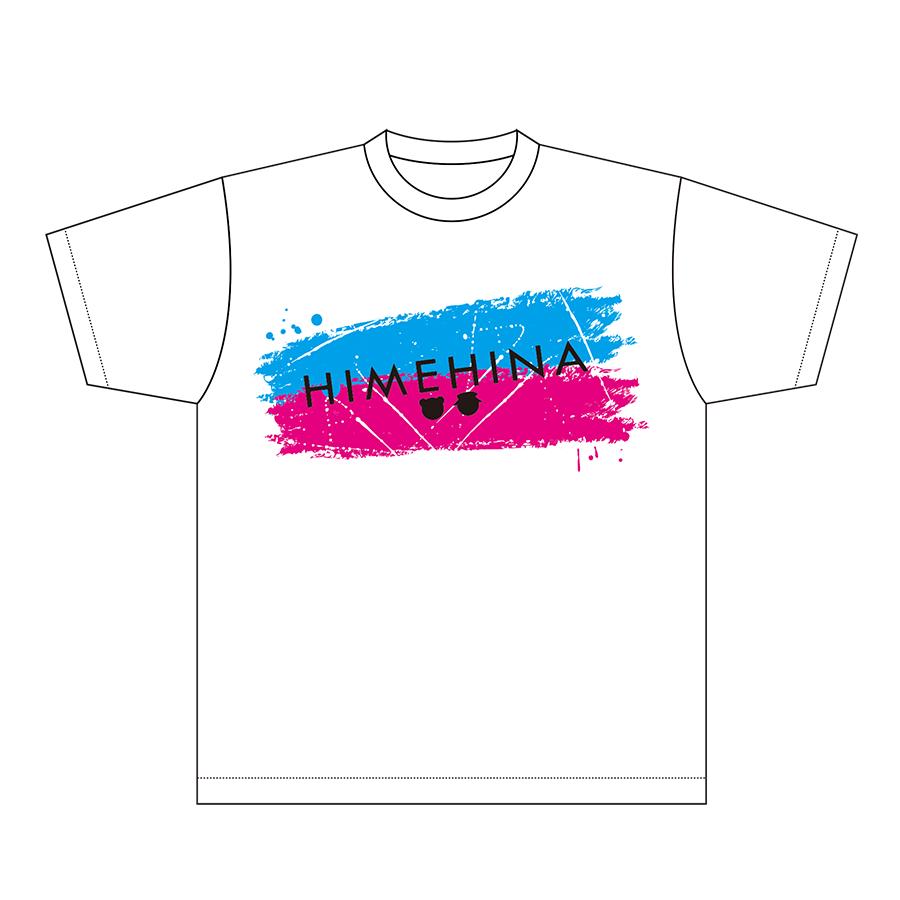 【再販】Tシャツ White ヒメヒナグッズ2020ver.